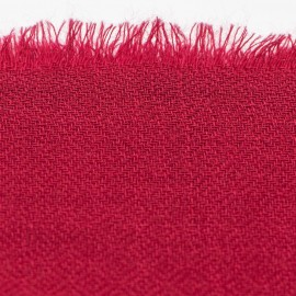 Maroon pashmina stole in diamond weave