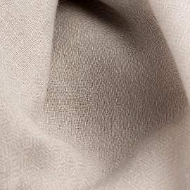 Light grey pashmina stole in diamond weave