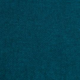 Petrol blue yak scarf