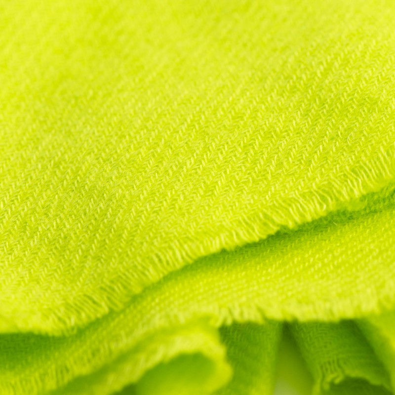 0634866c3 Beautiful twill woven pashmina scarf in a nice lime green colour