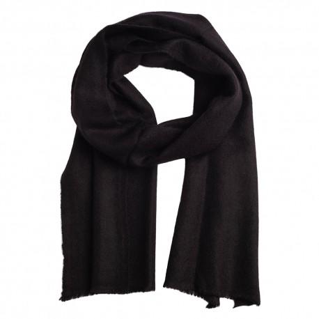 Small cashmere scarf in black