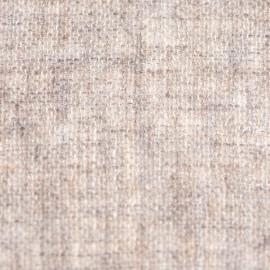 Cashmere stole in natural grey melange