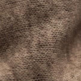 Brown square cashmere scarf