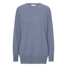 Dove blue oversize cashmere sweater