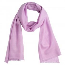 Small lavender cashmere scarf