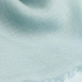 Opal coloured pashmina stole in diamond weave