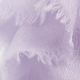 Lavender pashmina shawl in 2 ply twill weave