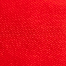 Coral red pashmina scarf in cashmere