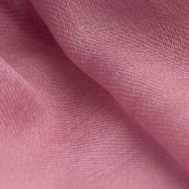 Mauve pashmina shawl in 2 ply twill