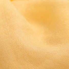 Light yellow pashmina shawl in 2 ply twill