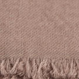 Grey beige pashmina shawl in 2 ply twill