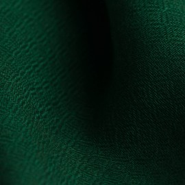 Dark green pashmina shawl in diamond weave