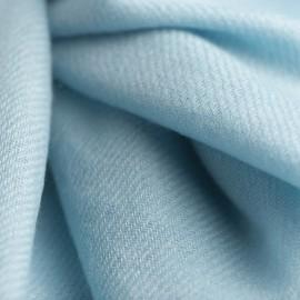 Ice blue cashmere scarf