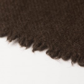 Large natural brown yak scarf