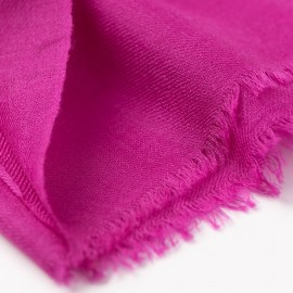 Violet pashmina stole in 2 ply twill weave