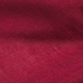 Burgundy pashmina shawl in cashmere and silk