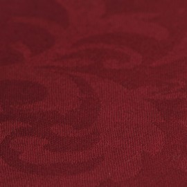 Burgundy jacquard pashmina shawl