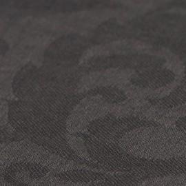Dark grey jacquard pashmina shawl