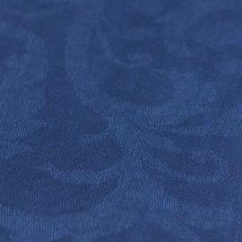 Dark bue jacquard pashmina shawl