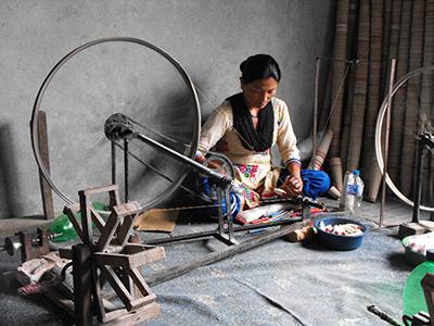 Reeling yarn
